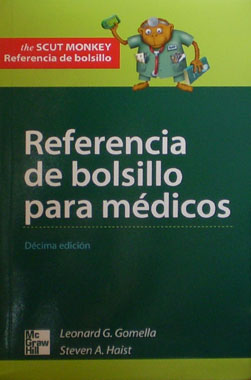 Referencia de Bolsillo para Medicos The Scut Monkey 10a. Edicion