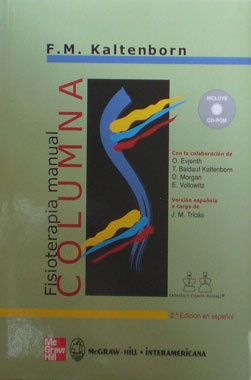 Fisioterapia Manual Columna con CD
