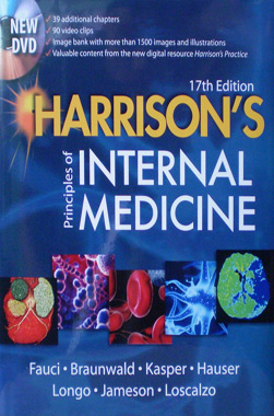 Harrison's Principles of Internal Medicine 17th. Edition