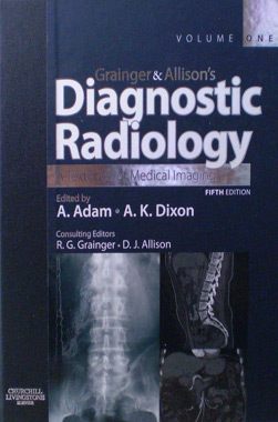 Grainger & Allison's Diagnostic Radiology 2 Vols. Set 5th. Edition