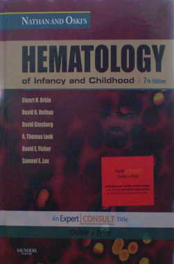 Hematology of Infancy and Childhood, 7th. Edition