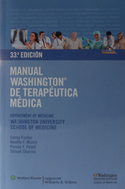 Manual Washington de Terapeutica Medica, 33a. Edicion