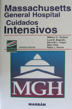 Massachusetts General Hospital Cuidados Intensivos 3a. Edicion