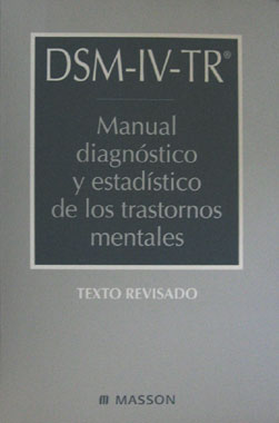 Texto Revisado Manual Diagnostico y Estadistico de los Trastornos Mentales