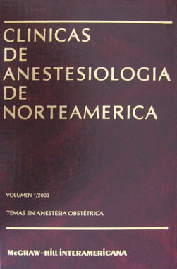 Clinicas Anestesiologicas 4 Vols.