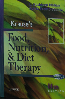 Food Nutrition & Diet Therapy, 11a. Edicion ( Krause's )