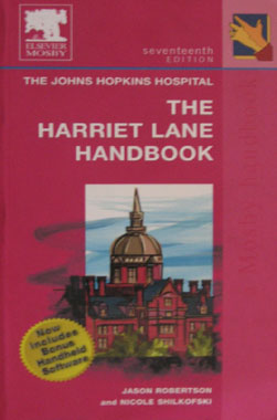 Harriet Lane Handbook. 17th. Edition