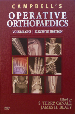 Campbell's Operative Orthopaedics 11Th. Edition 4 Vols. + CD-ROM